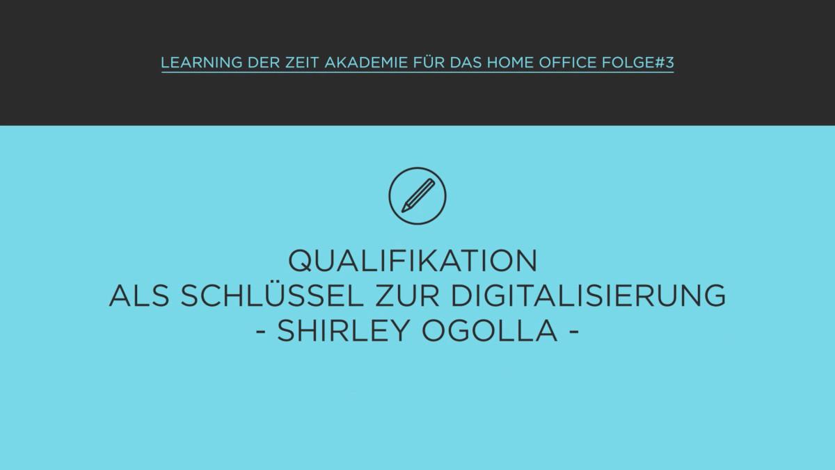 Qualifikation als Schlüssel zur Digitalisierung im Home Office