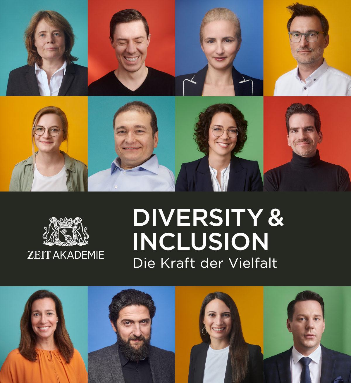 Cover des ZEIT Akademie Kurses Diversity & Inclusion