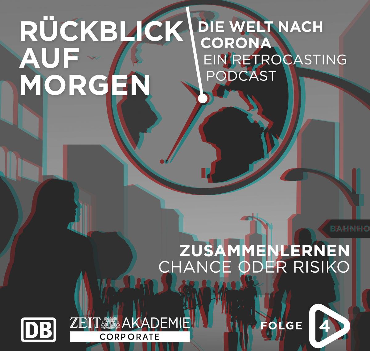 Folge 4 vom DB-Podcast Rueckblick auf morgen mit Verena Pausder über Bildung
