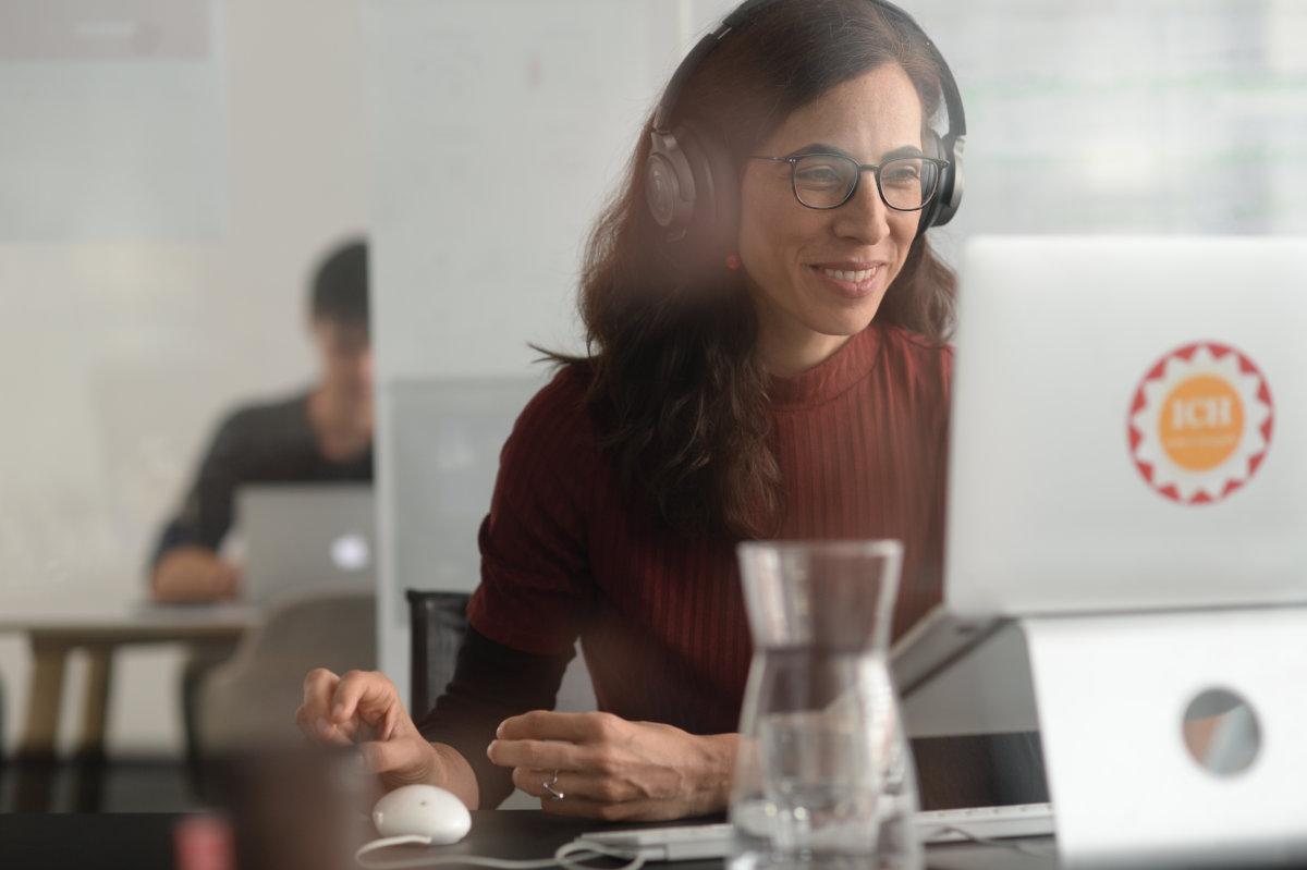 E-Learning-Managerin Ximena Rodriguez