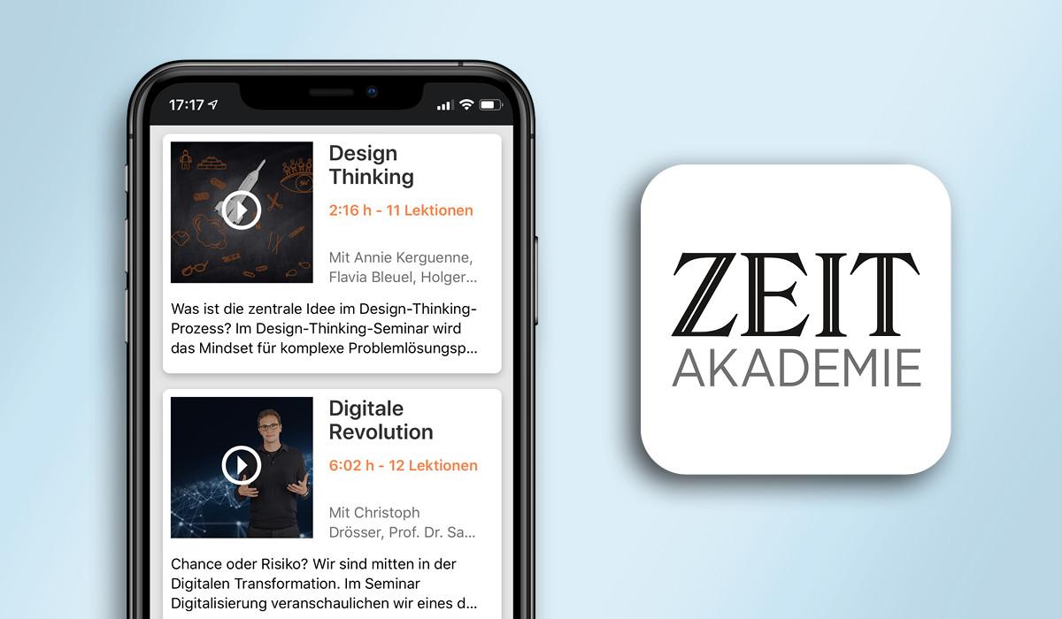 Die ZEIT Akademie App