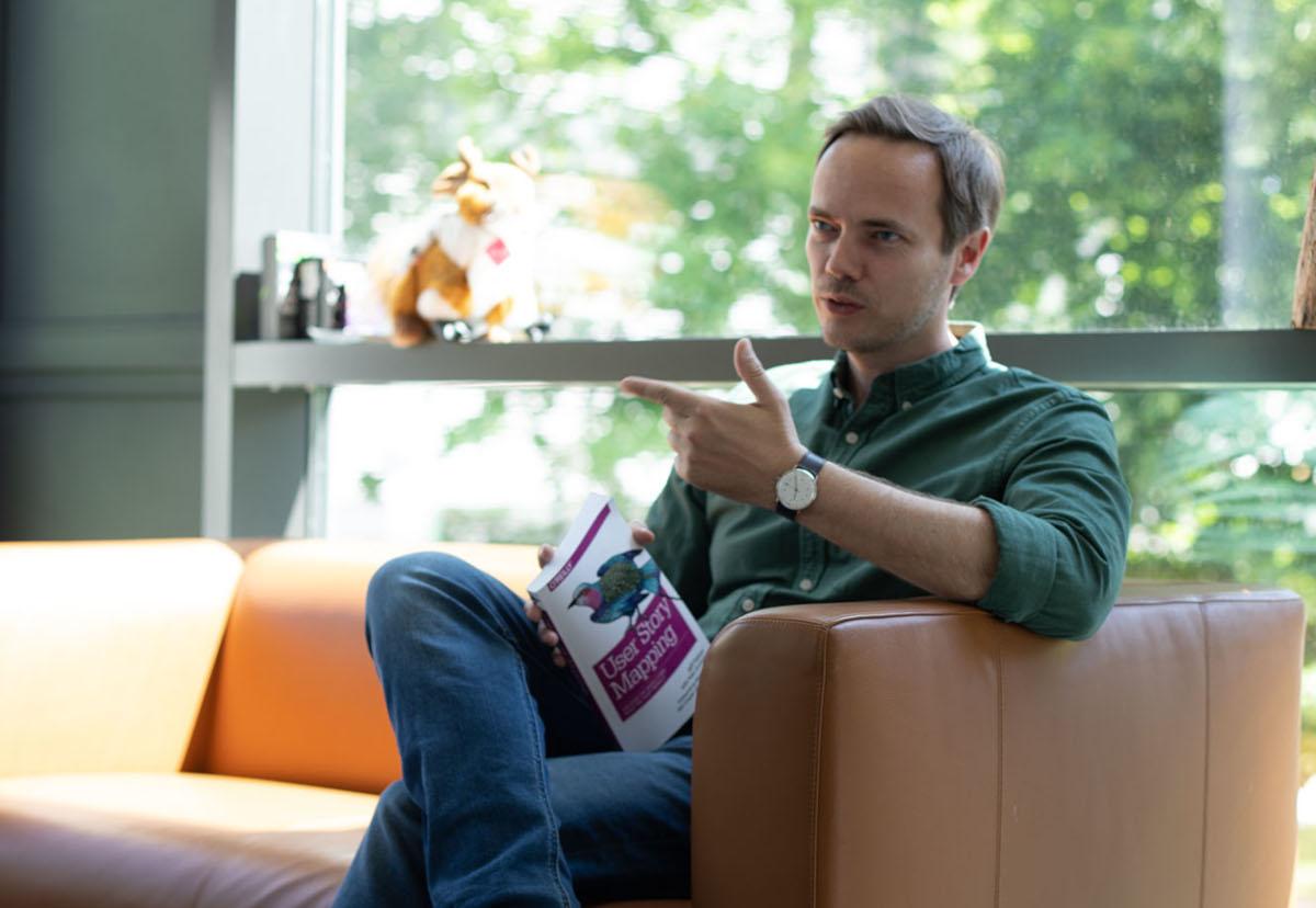 """Lernen mit den Besten: Holger Rhinow ist Experte für den Kurs """"Agile Teamarbeit"""""""